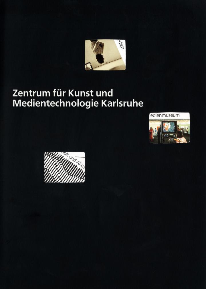 Schwarzes Cover mit Durchbrüchen und weißer Schrift.