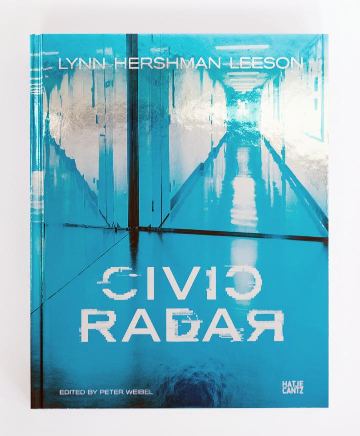 Cover of the publication »Lynn Hershman Leeson: Civic Radar«