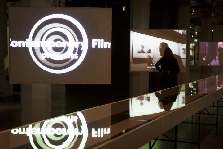 Blick in die Ausstellung »Beat Generation«