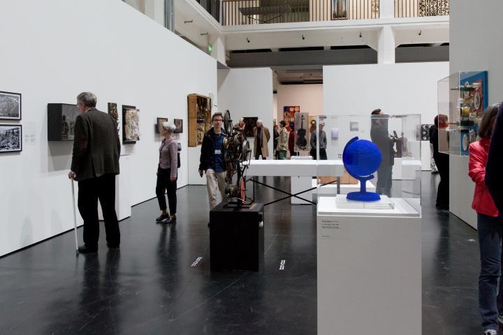 Blick in die Ausstellung »Kunst in Europa 1945–1968«, ZKM |Karlsruhe