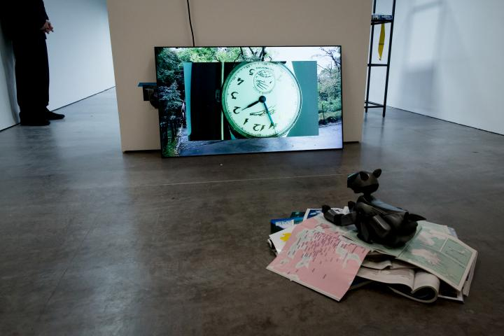 View of the exhibition »Hybrid Layers«