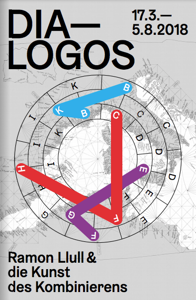 Cover der »Dia-Logos« Ausstellungsbroschüre