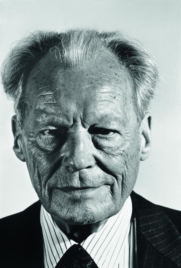 Willy Brandt, Bonn 1989