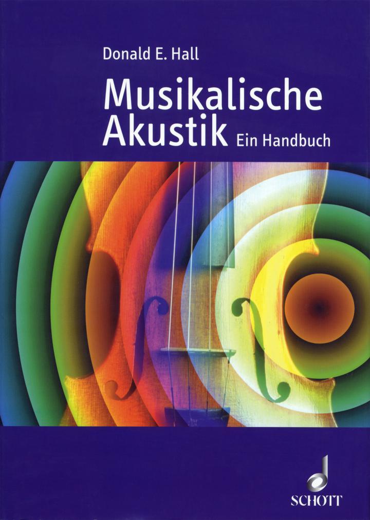 Cover of the publication »Musikalische Akustik: ein Handbuch«