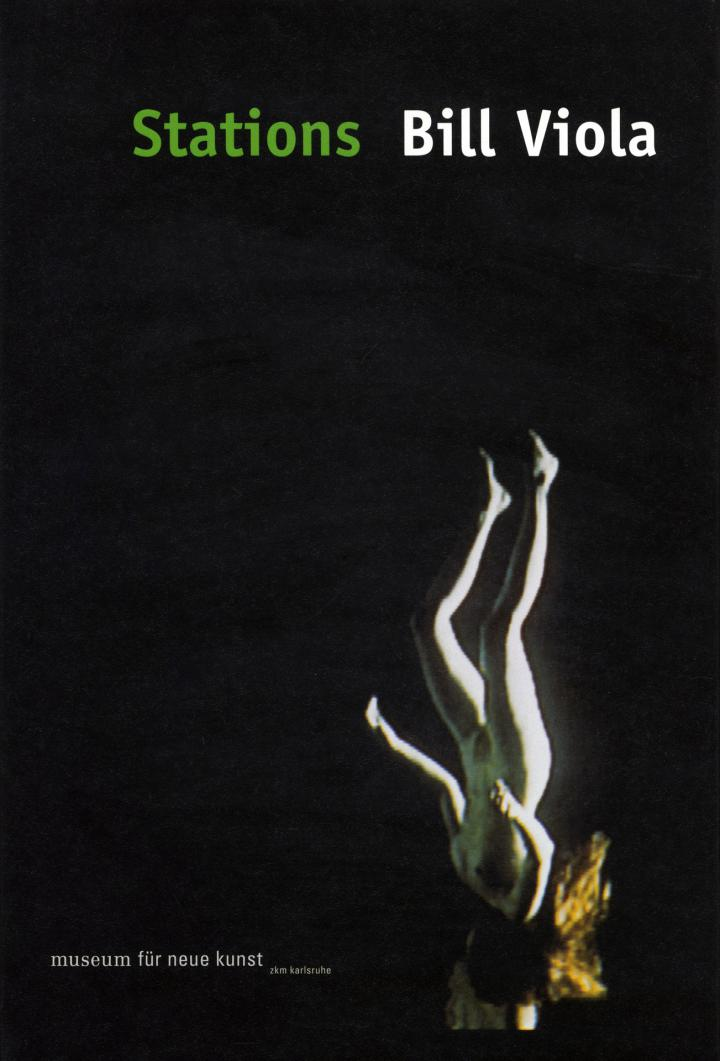 Cover of the publication »Bill Viola: Stations«