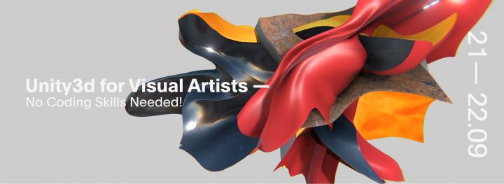 Veranstaltungsplakat: Unity3D for Visual Artists