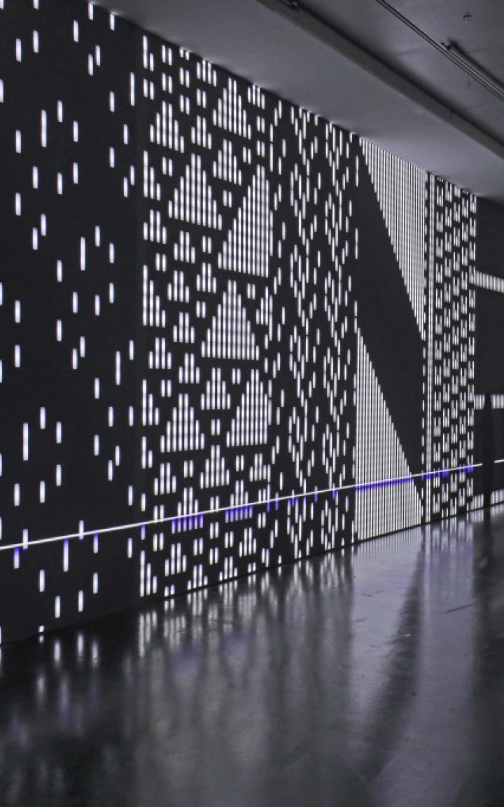Blick in die Ausstellung »Datumsoria«