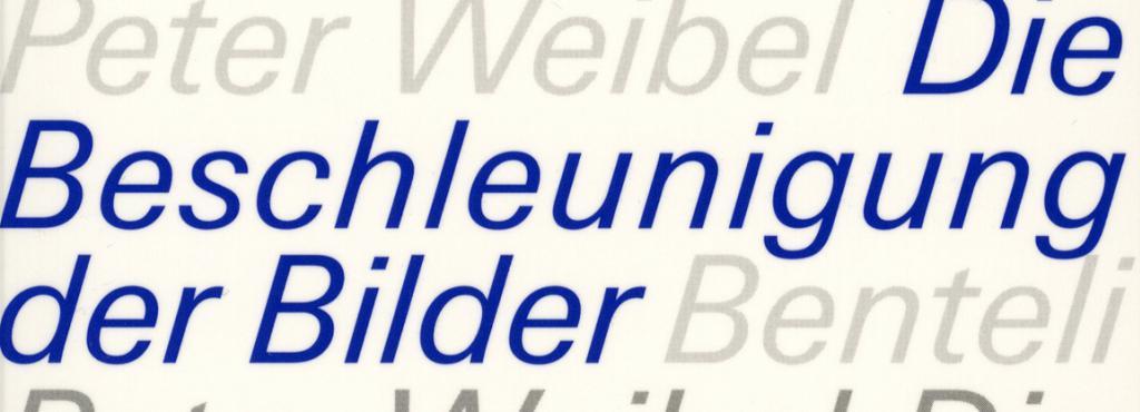 Cover of the publication »Die Beschleunigung der Bilder. In der Chronokratie«