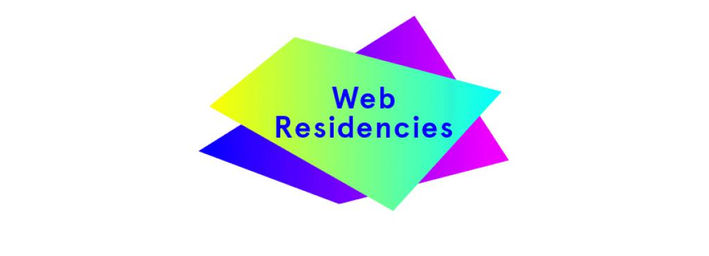 Logo Web-Residencies by Solitude & ZKM