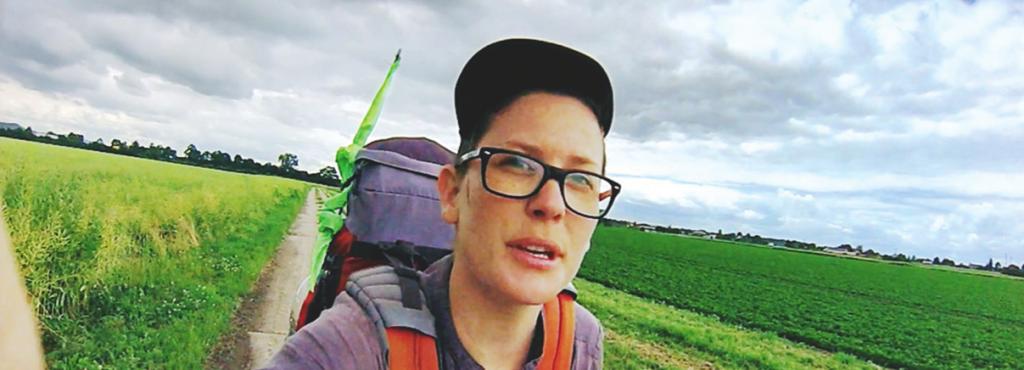 Marinka Limat in Ihrem Film »Kunstpilgerreise 1«