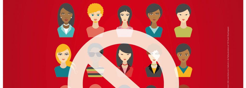 Plakat zum Vortrag Hate Speech – Keine Frage des Geschlechts?