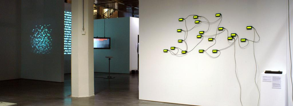 "Exhibition view ""Algorithmic Revolution"""