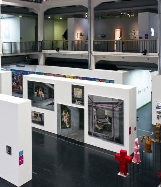 Exhibition view The Global Contemporary