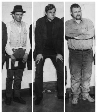 Portraits by Joseph Beuys, Bazon Brock and Wolf Vostell