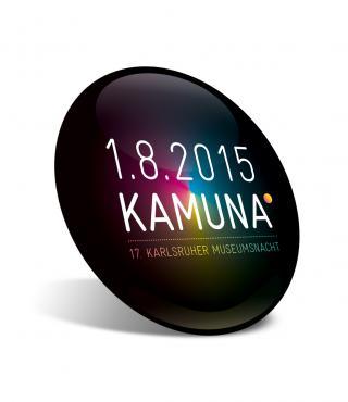 """Eine Abbildung eines Buttons auf dem """"KAMUNA"""" steht"""