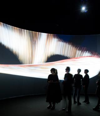 Exhibition view »The Art of Immersion«