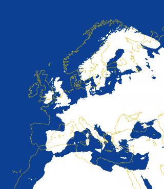 Titelbild der Ausstellung zu »Kunst in Europa 1945-1968. Der Kontinent, den die EU nicht kennt«
