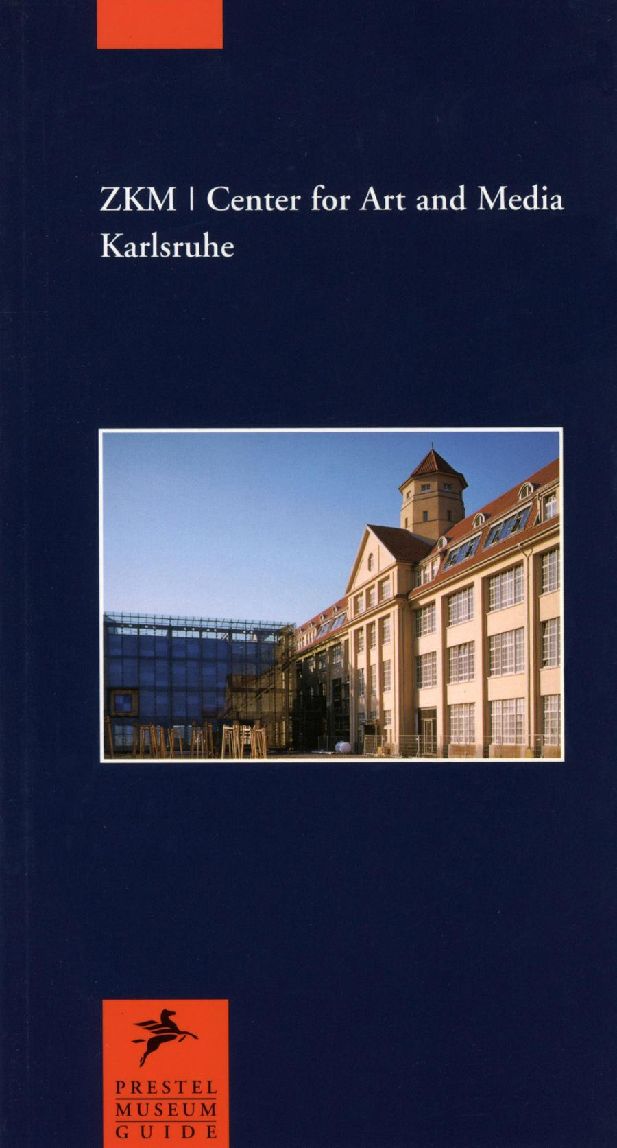 Cover of the publication »ZKM | Center for Art and Media Karlsruhe«