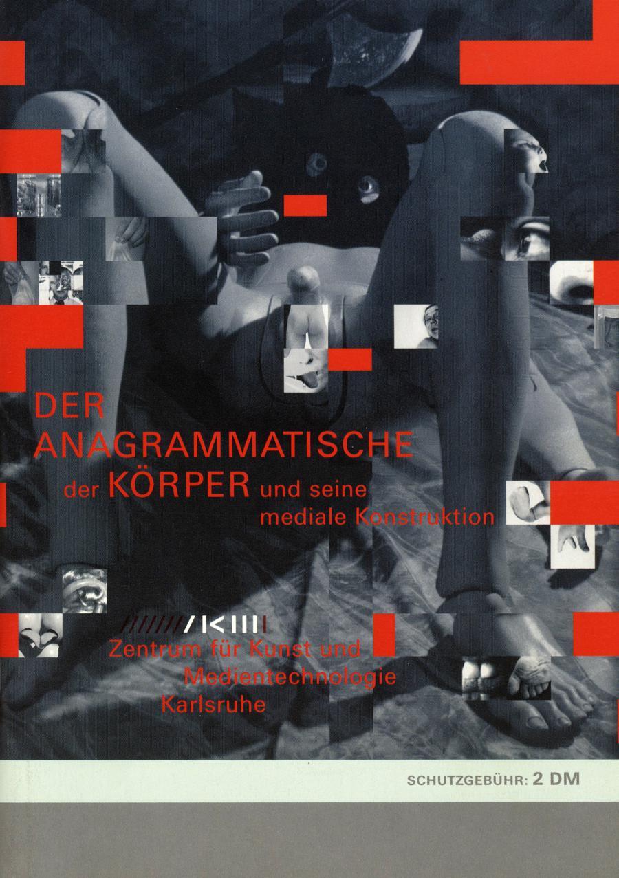Cover of the publication » Der anagrammatische Körper«