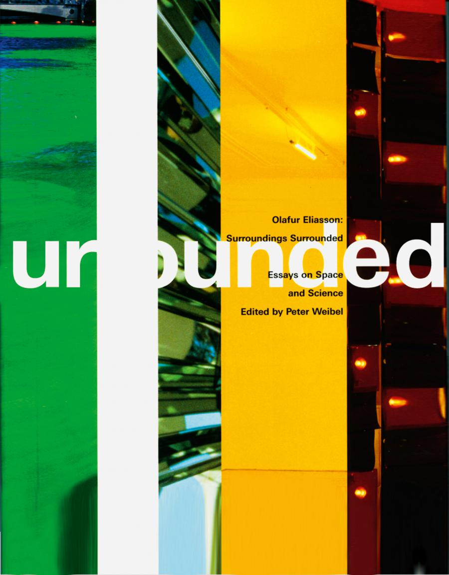 Cover of the publication » Olafur Eliasson: Surroundings Surrounded«