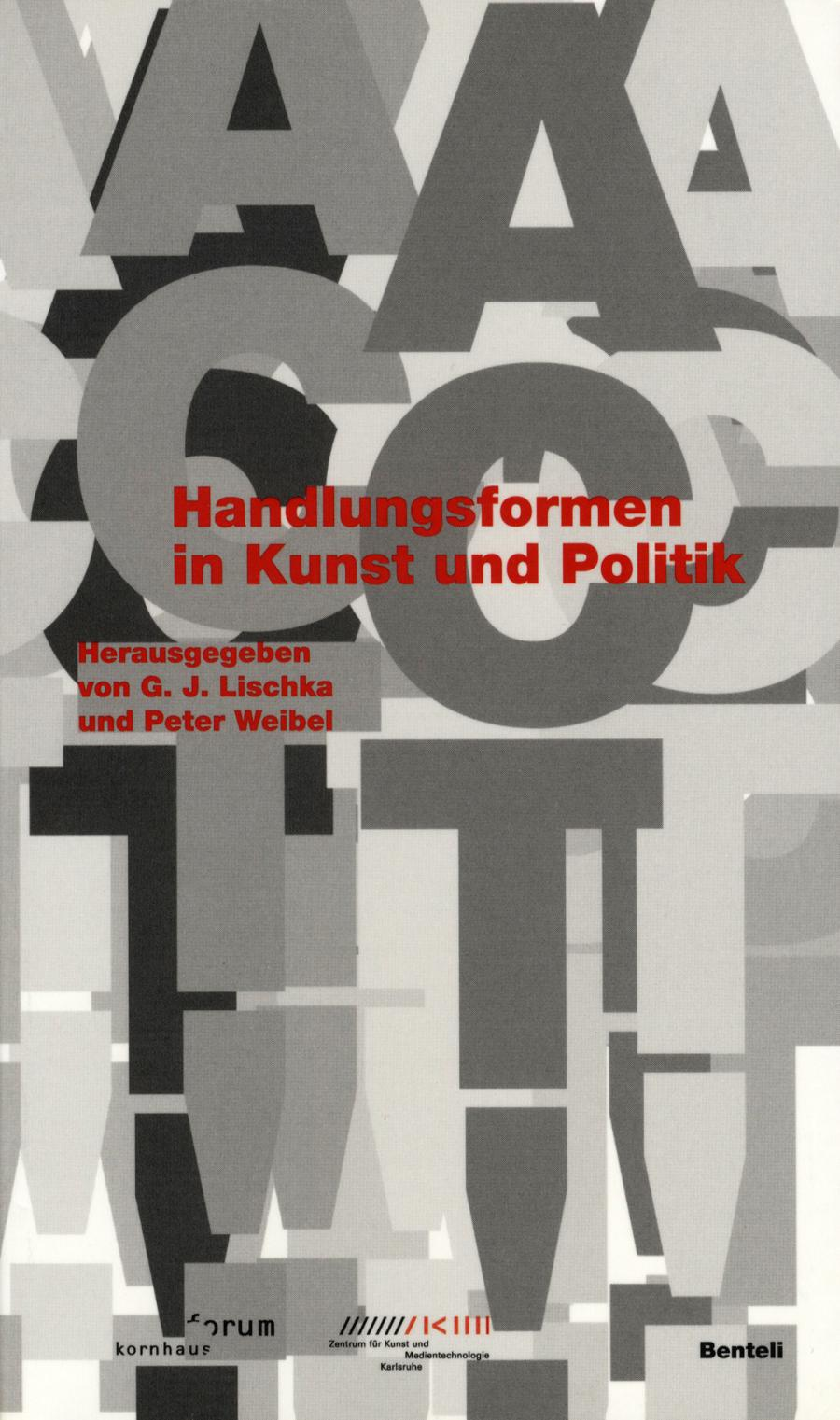 Cover of the publication »Act! Handlungsformen in Kunst und Politik«