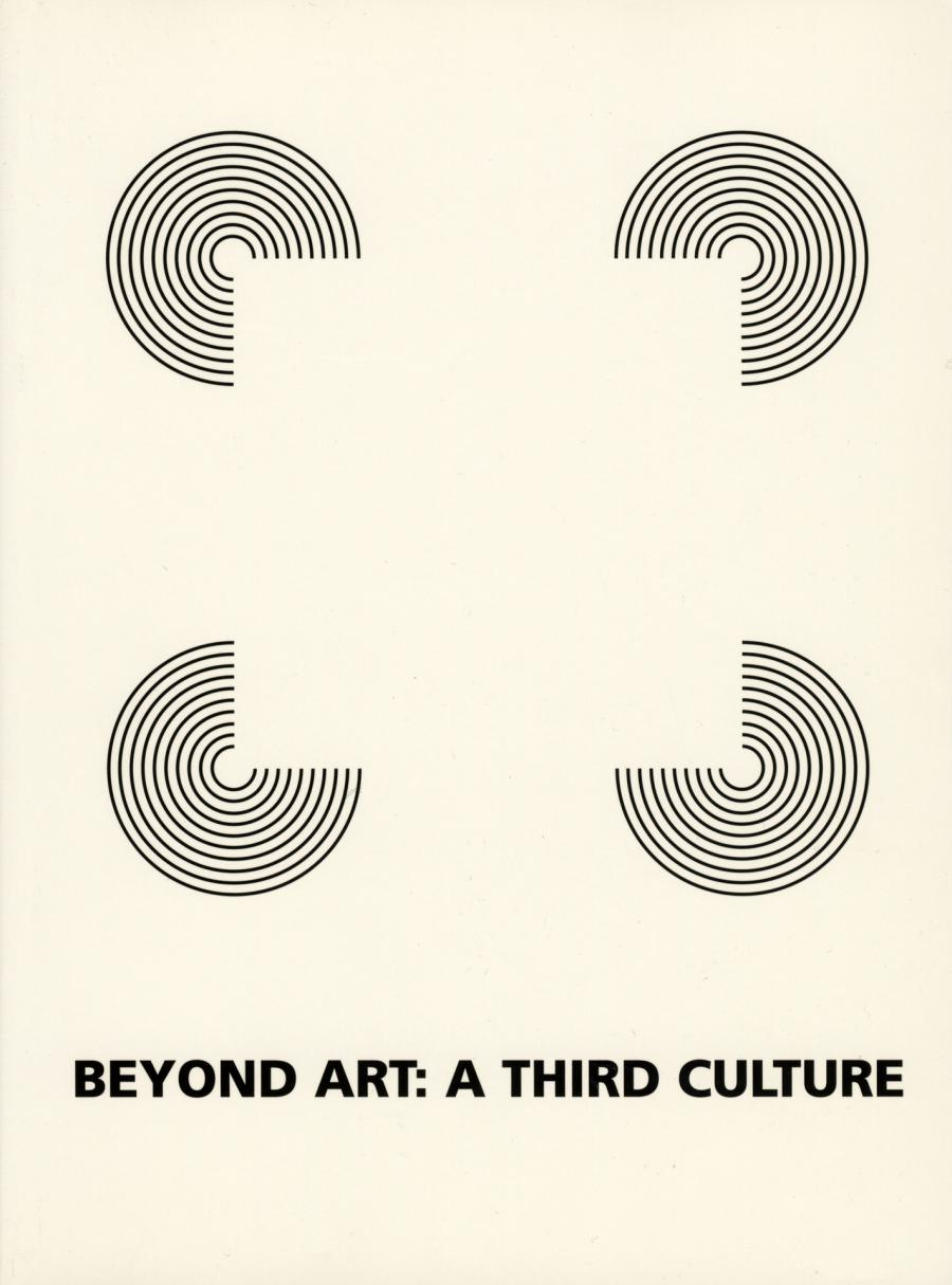 Cover of the publication »Beyond Art. A Third Culture«