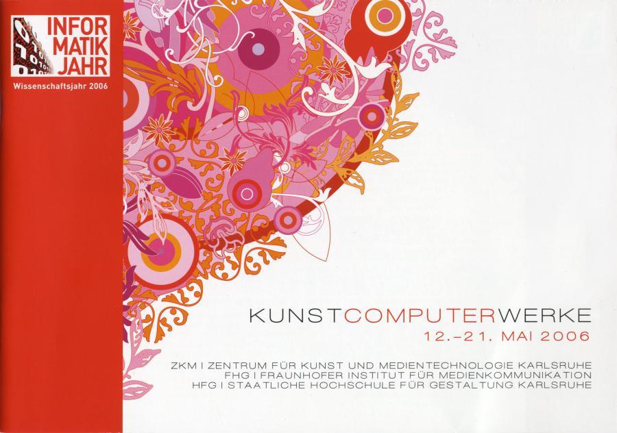 Cover of the publication »Kunst Computer Werke«