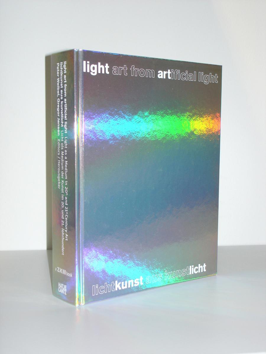 Cover of the publication »Lichtkunst aus Kunst Licht / Light Art from Artificial Light«