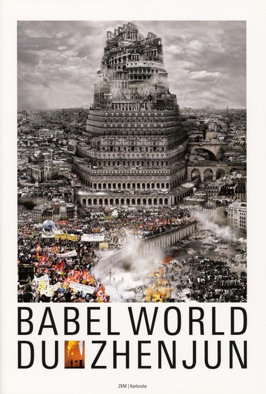 Cover of the publication »Du Zhenjun: Babel World«