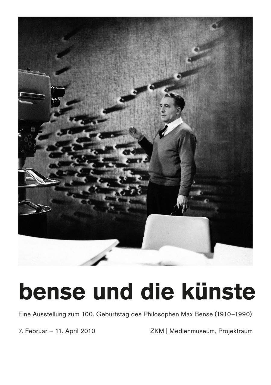 Cover of the publication »Bense und die Künste«