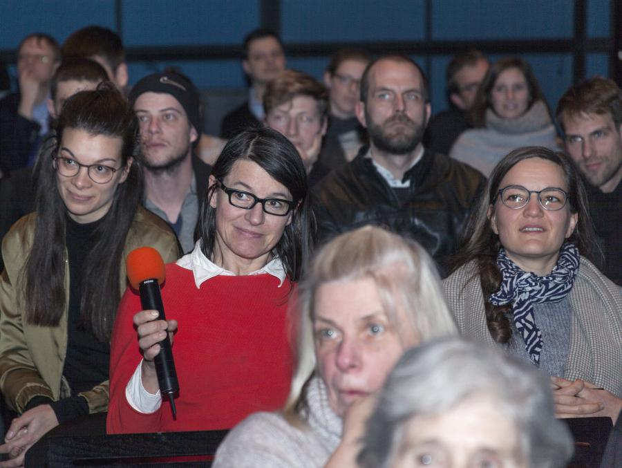 The audience during the Frei Otto Symposium