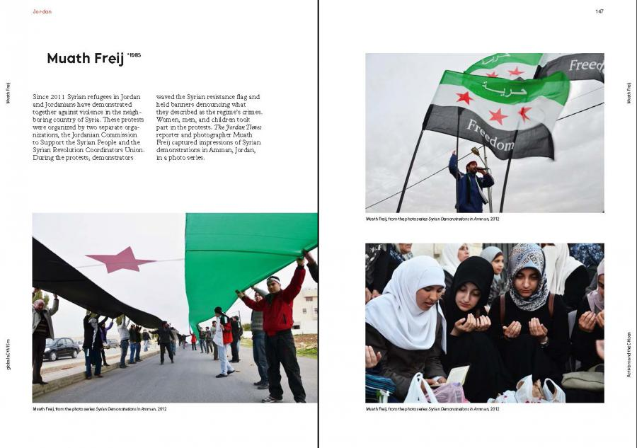 Sample page of the publication »global aCtIVISm«