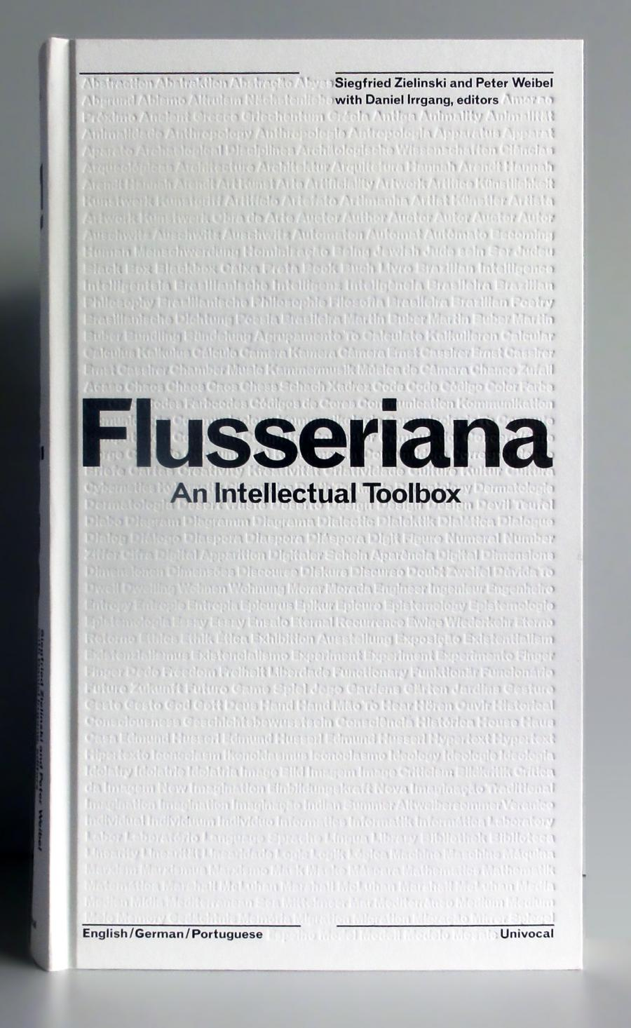 Cover of the publication »Flusseriana«