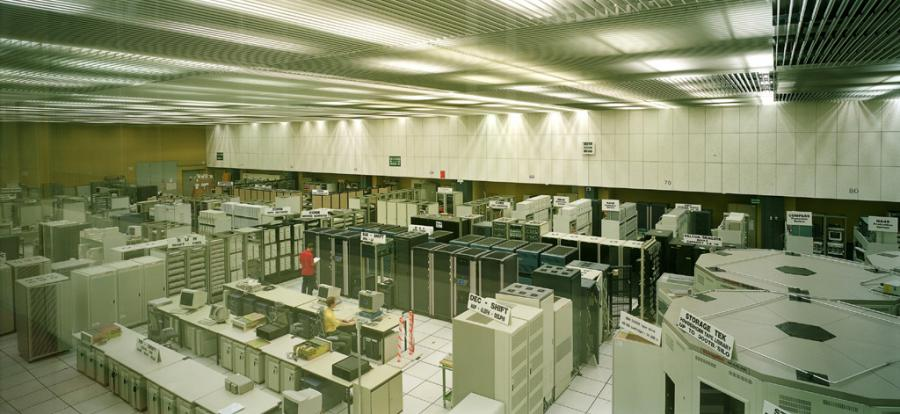 A room of the Cern Control Rooms