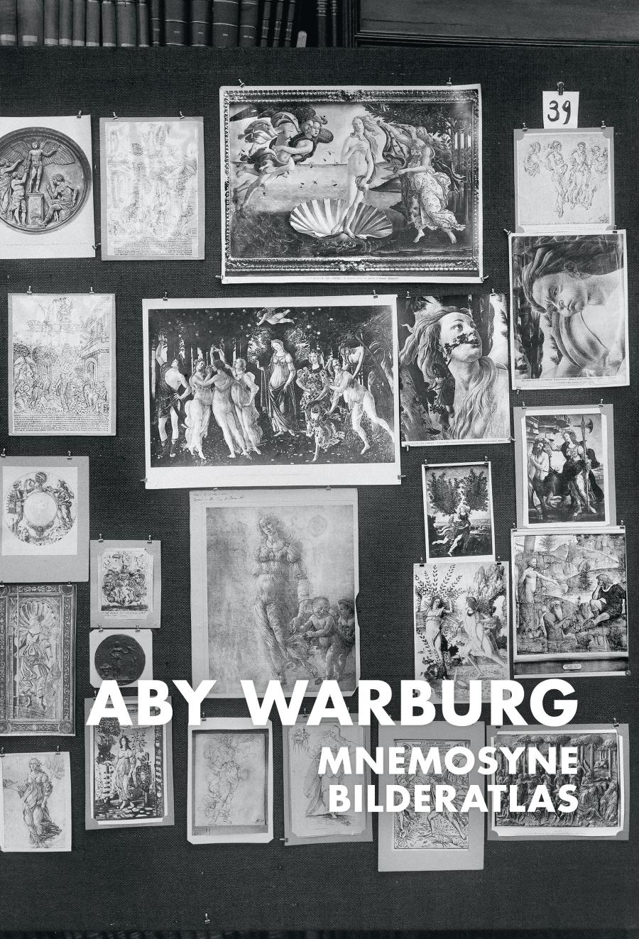 Historical photograph of Aby Warburg's image panels at the Hamburg library