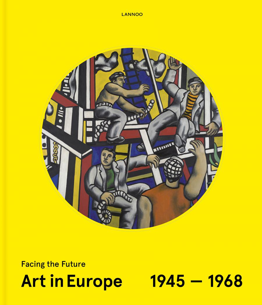 Bookcover with detail from Fernand Leger's painting »Constructeurs« (1951)