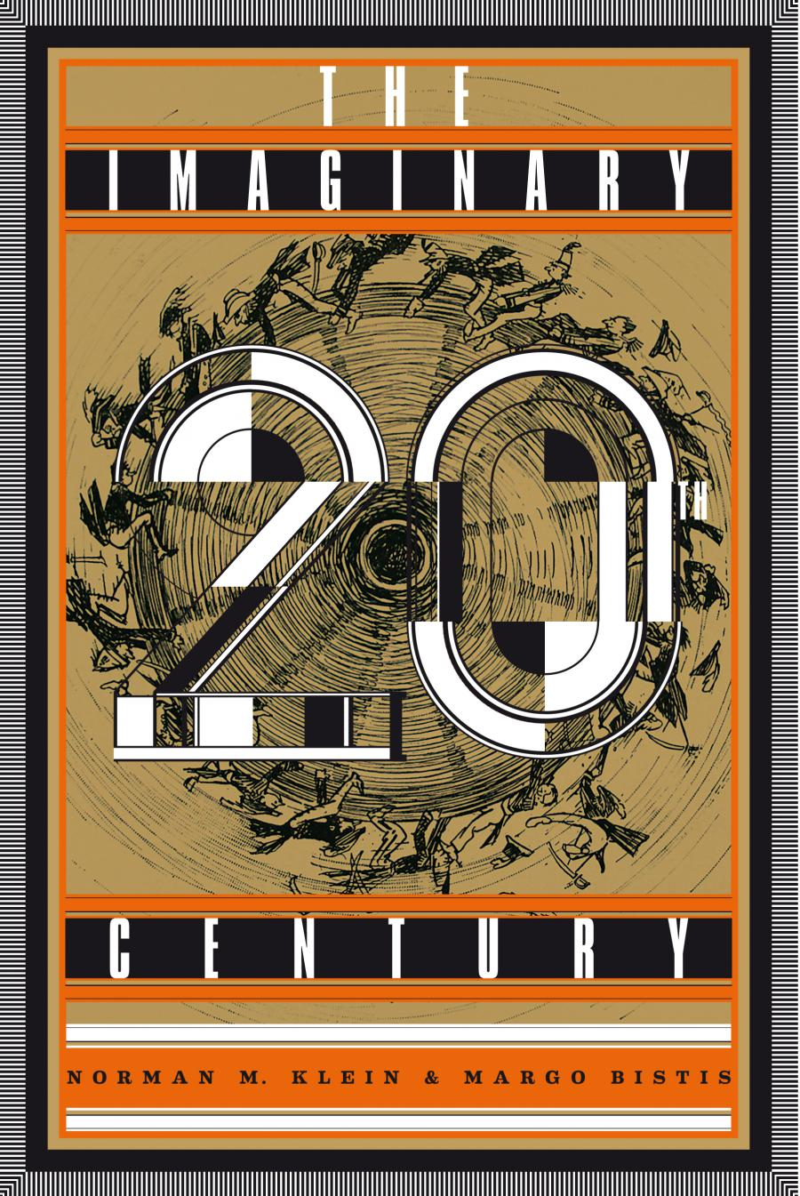 Cover der Publikation »The Imaginary 20th Century«, text on golden background