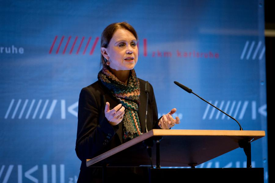 State Secretary Petra Olschowski at the opening