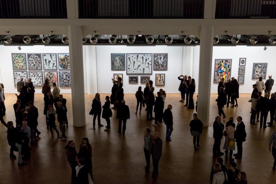 Ausstellungseröffnung »Markus Lüpertz. Kunst, die im Wege steht«