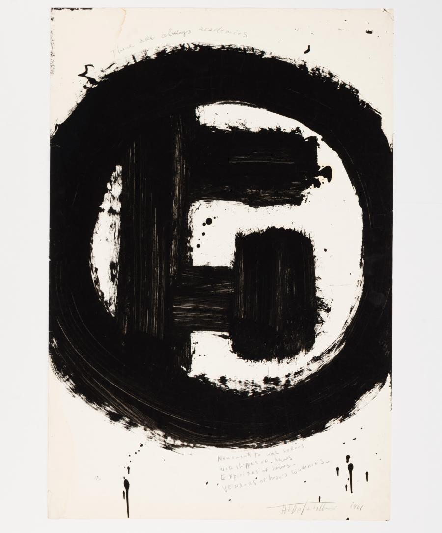 Aldo Tambellini, »Black Matters« - Vendors of hero's souvenirs (The Manifesto Series)