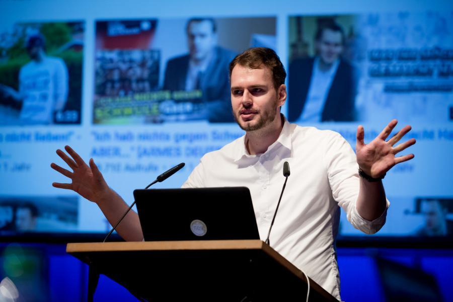 Rayk Anders @ Symposium »Onlinejournalismus und die 4. Macht«, 18.9.2015