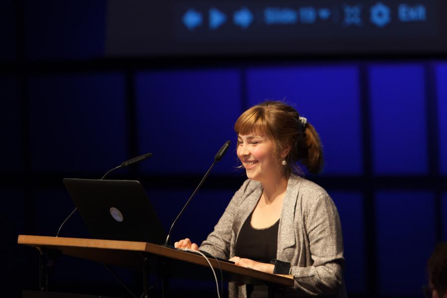 Andrin Schumann @ Symposium »Onlinejournalismus und die 4. Macht«, 18.9.2015