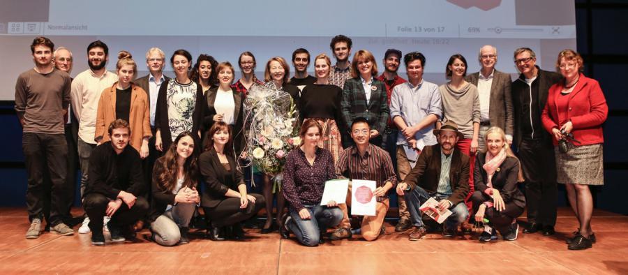 StipendiatInnen und Mitglieder des Fördervereins