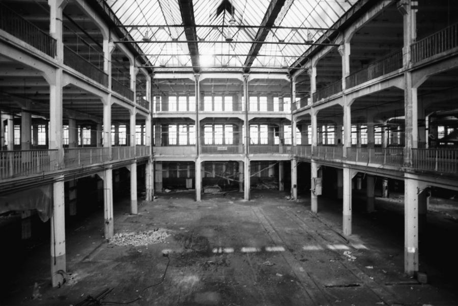 An empty atrium