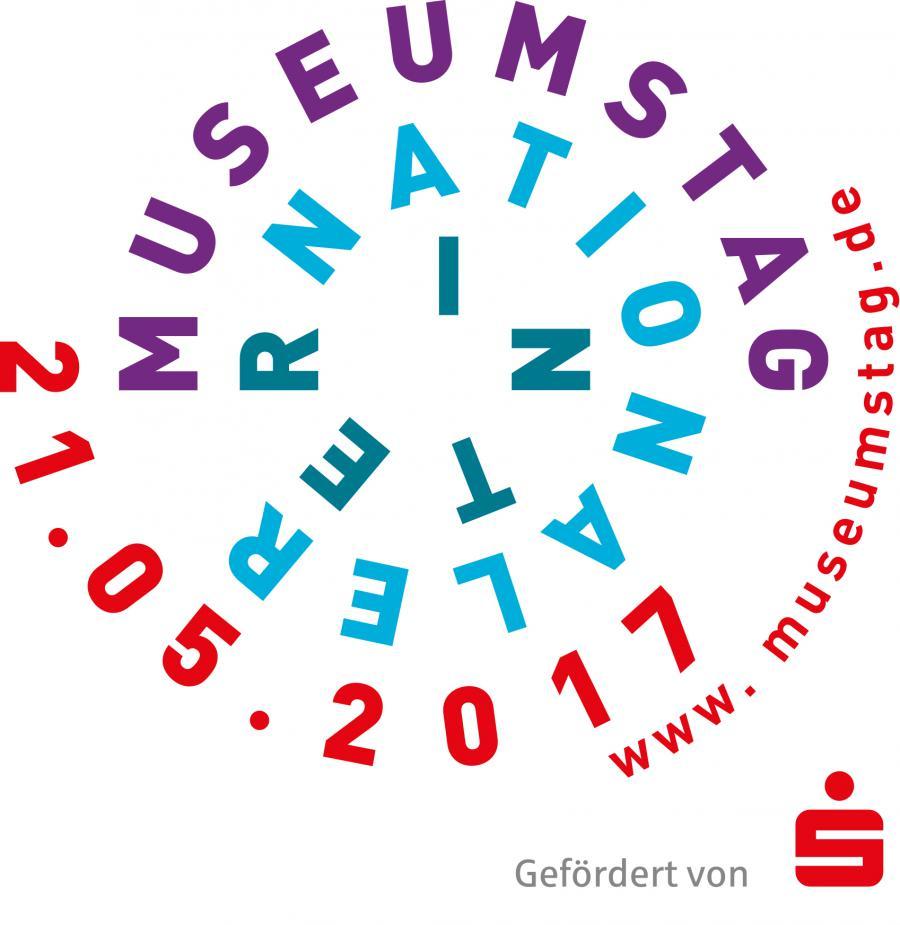 Das Foto zeigt das Plakat des Internationalen Museumstag am 21. Mai 2017