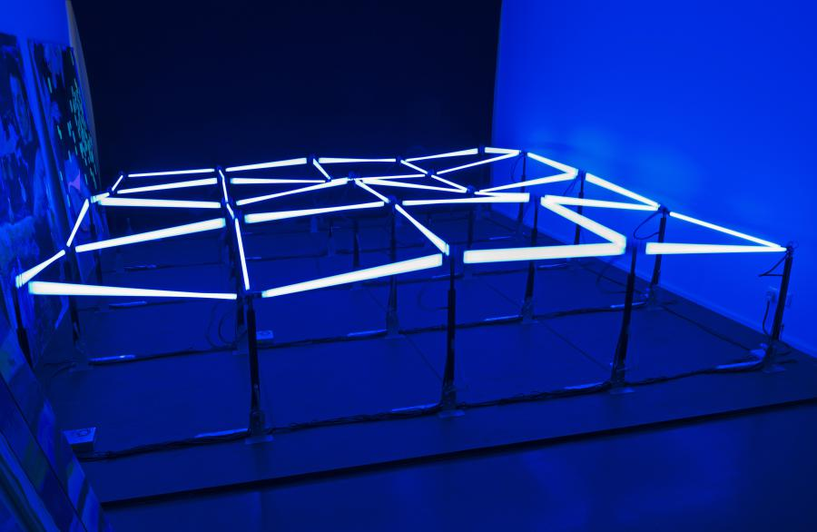 Installation »Zero Hidrográfico« von Gisela Motta & Leandro Lima (2010)