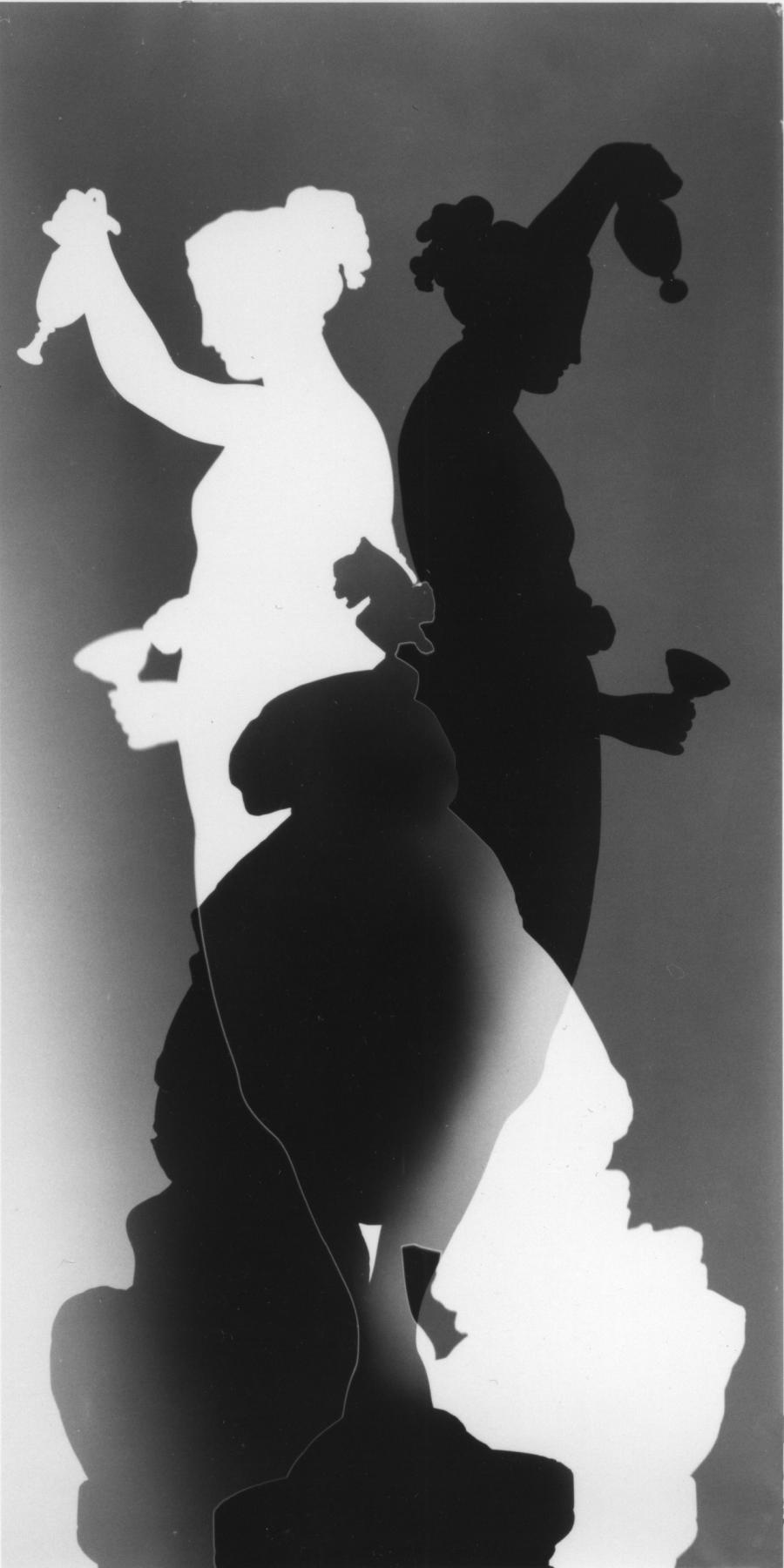 Fotogramm einer Skulptur