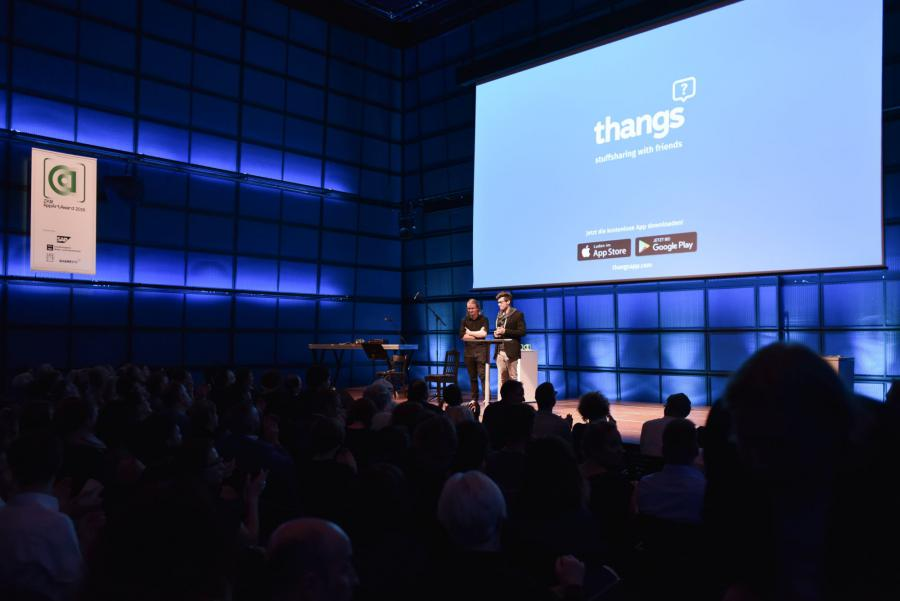 »thangs« is introduced