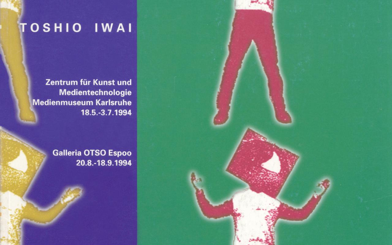 Cover of the publication »Toshio Iwai«