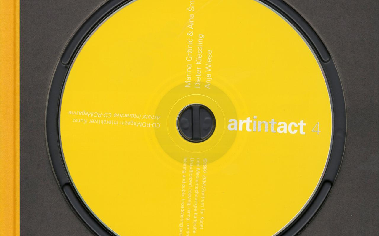 Cover der Publikation »Artintact 4«